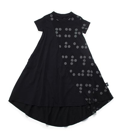 Nununu Braille Dress | Black