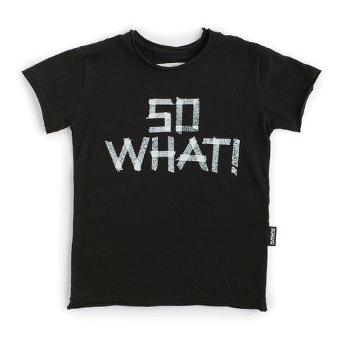 Nununu So What T-Shirt | Black