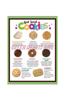 Free Box of Cookies - Green Hearts Pink