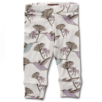 MILKBARN Leggings | Hummingbird - Green Hearts Pink