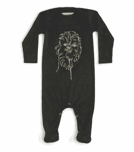 Nununu Star Wars Chewbacca Overall | Black