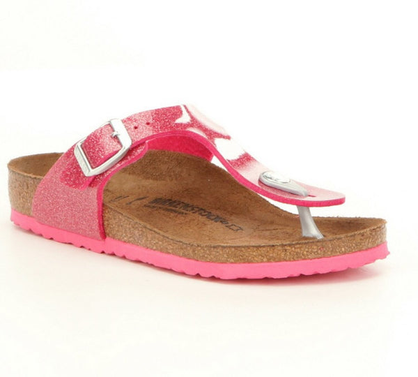 Birkenstock Gizeh Galaxy | Rose - Green Hearts Pink