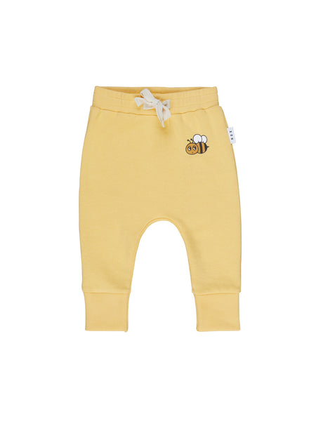 Huxbaby Honey Bear Drop Crotch Pants | Sunshine
