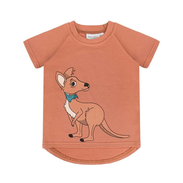 Dear Sophie T-Shirt | Kangaroo Red Brick