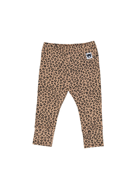 Huxbaby Animal Leggings | Camel
