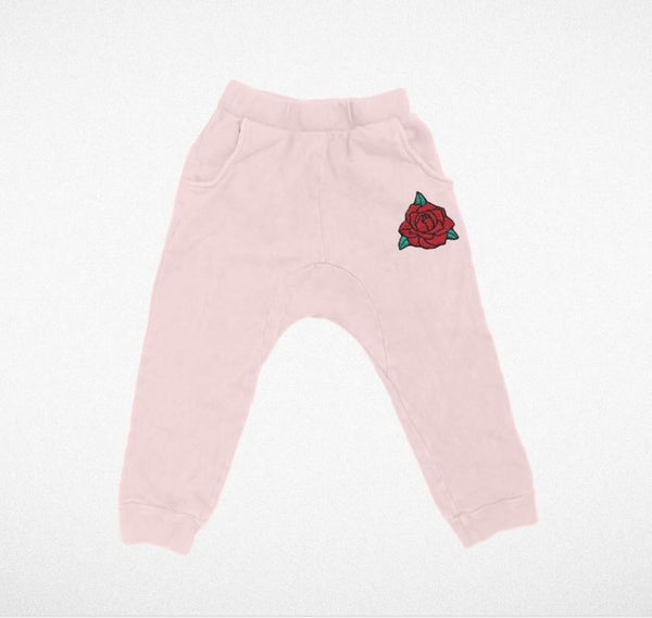 Tiny Whales Joggers | Rosey
