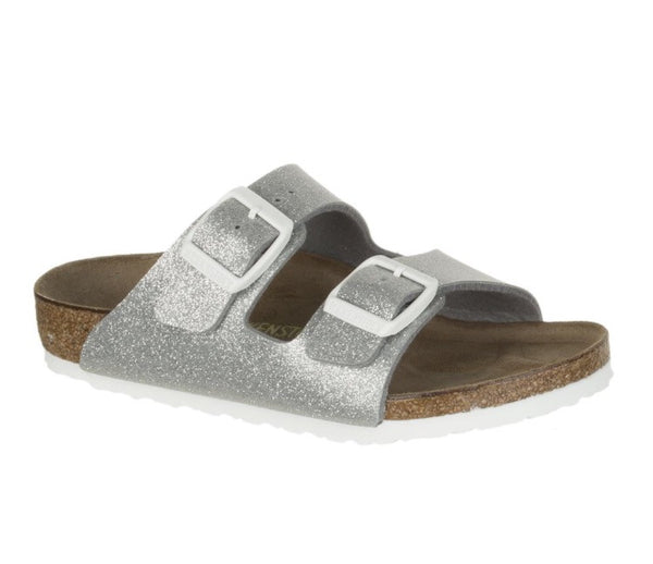 Birkenstock Arizona Galaxy | Silver - Green Hearts Pink