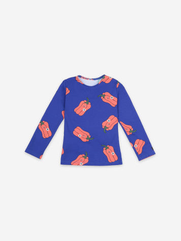 Bobo Choses Vote For Pepper All Over Swim Top