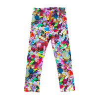 Romey Loves Lulu Leggings | Toys - Green Hearts Pink