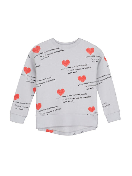 Beau Loves Relaxed Fit Sweater | I Heart You
