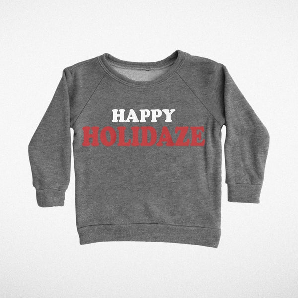 Tiny Whales Sweatshirt | Happy Holidaze