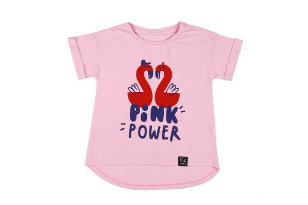 Kukukid T-Shirt | Pink Power