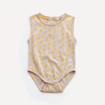 Indikidual Bodysuit | Yellow - Green Hearts Pink