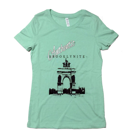 Authentic Brooklynite Tee - Ladies