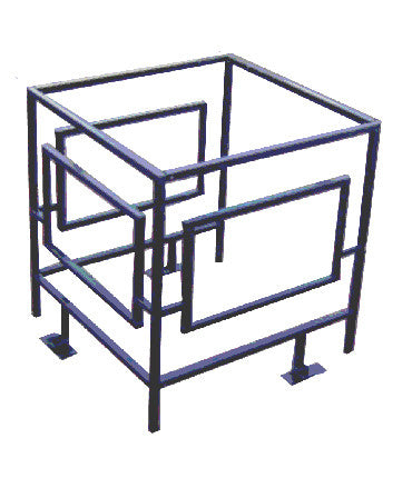 Condenser Security Cage Adjustable