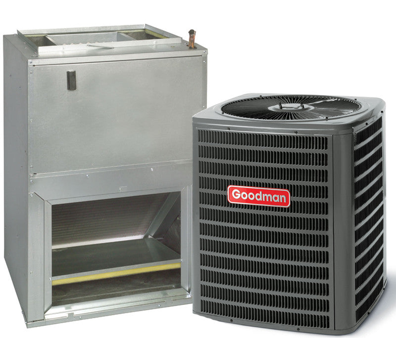 GSZ140181 + AWUF310516 14 seer 1.5 ton R410a Heat Pump With Front Return Air Handler
