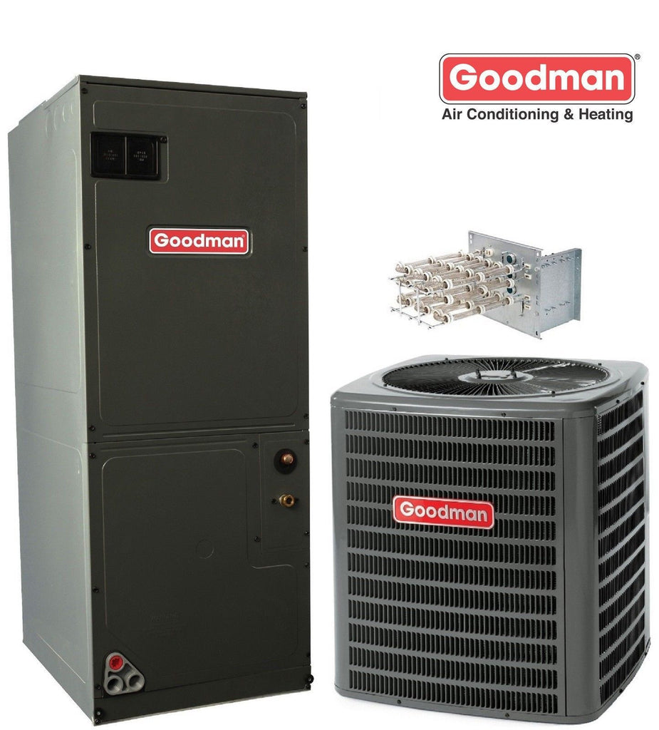 GSX160241 + ASPT30C14 16 seer 2 ton R410a Condenser Straight Cool System with 5 kw Heater