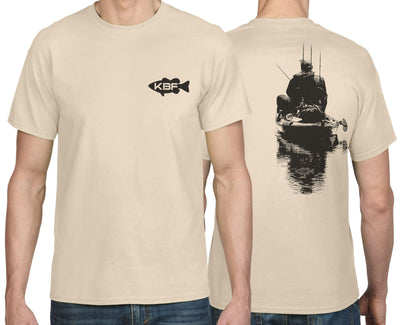 KBF Poly-Cotton Angler-Back T-Shirt