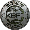 2019 KBF BONUS BUCKS - TRAIL