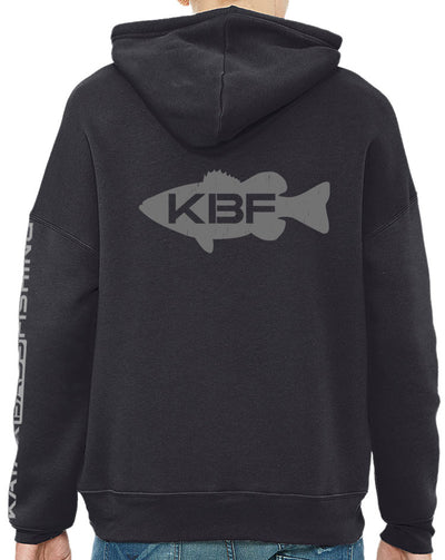 Bella+Canvas Fleece Hoodie - KBF Flag