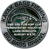 KBF Big Bass Brawl Aug 2019 FLW/KBF Cup