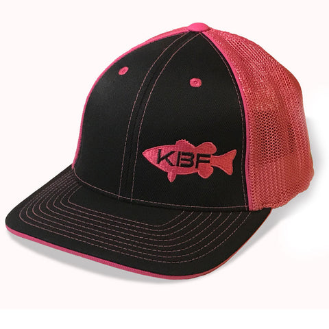 Mesh-back Fitted KBF Hat