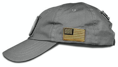 Tactical Cloth-back Hat - Slate