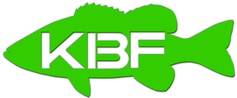 "KBF 5"" Smallmouth Bass Vinyl Decal"