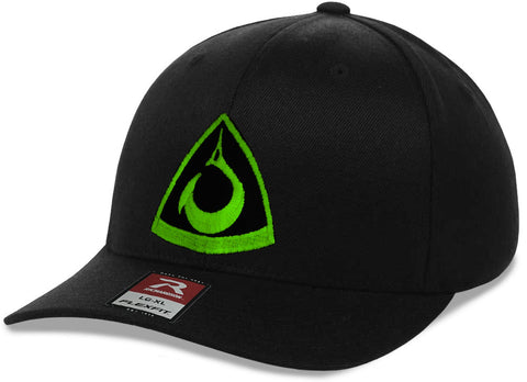 Black FlexFit Hat with Spearpoint Logo