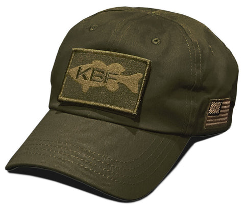 Tactical Cloth-back Hat - Olive