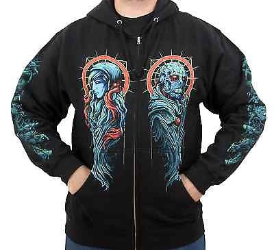 THE BLACK DAHLIA MURDER (Dr. Phibes) Men's Zip-Up Hoodie