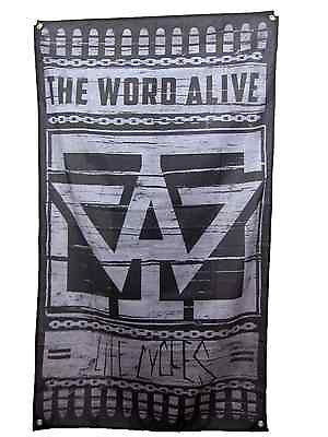 THE WORD ALIVE (Life Cycles) Flag / Banner
