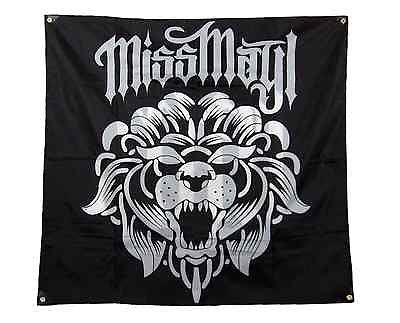 "MISS MAY I (Lion) Flag / Banner 47"" X 44"""