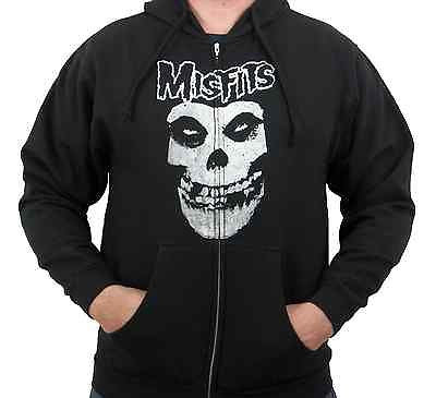 MISFITS (Skull) Men's Zip-Up Hoodie