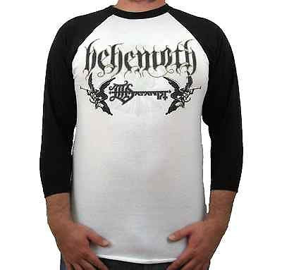 BEHEMOTH (Logo Jersey) Men's 3/4 Sleeve T-Shirt