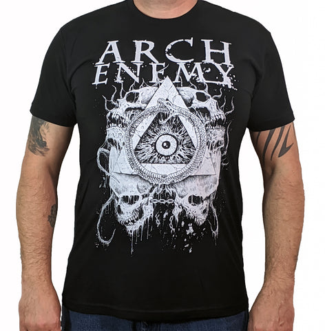 ARCH ENEMY (Skull Pyramid) Men's T-Shirt
