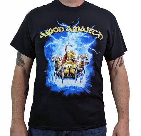 AMON AMARTH (Thor Crack The Sky) Men's T-Shirt