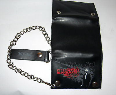 KILLSWITCH ENGAGE (suit skull) Chained Wallet