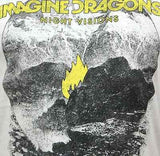 IMAGINE DRAGONS (Flame) Men's Slim Fit T-Shirt