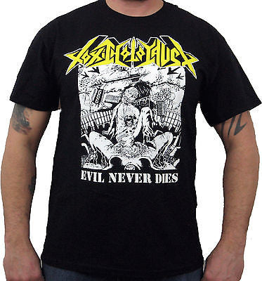 TOXIC HOLOCAUST (Evil Never Dies) Men's T-Shirt