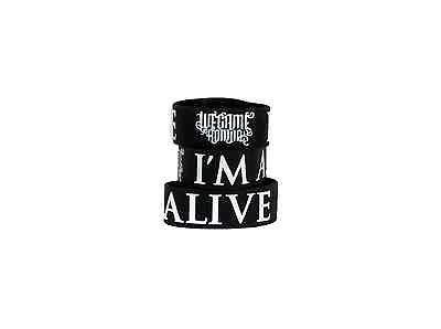 WE CAME AS ROMANS (I'm Alive) Die-Cut Rubber Wristband