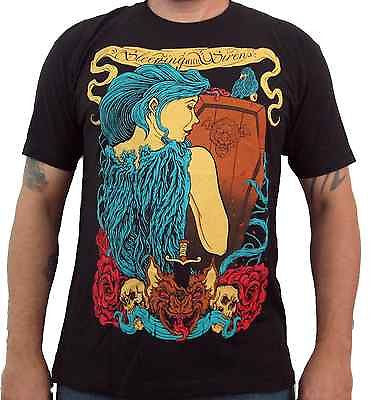SLEEPING WITH SIRENS (Light & Death) Men's Slim Fit T-Shirt