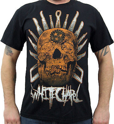 WHITECHAPEL (surgical skull) Men's T-Shirt
