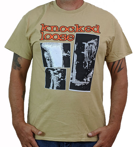 KNOCKED LOOSE (Live Tan) Men's T-Shirt