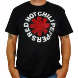 RED HOT CHILI PEPPERS (Distressed Asterisk) Men's T-Shirt