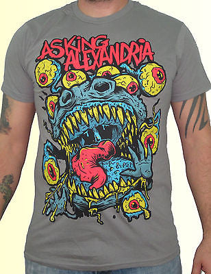 ASKING ALEXANDRIA (Eyeball Monster) Men's T-Shirt