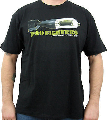FOO FIGHTERS (Black Bomb) Men's T-Shirt