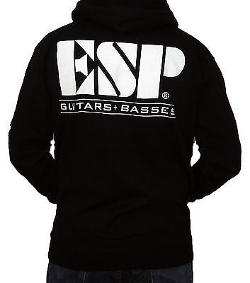ESP GUITARS (Logo) Men's Zip-Up Hoodie