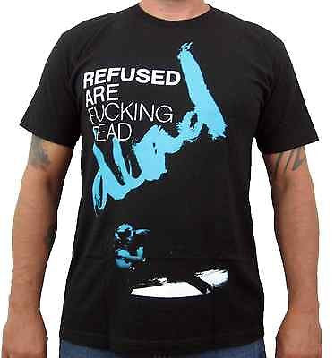 REFUSED (Are F*cking Dead) Men's Slim Fit T-Shirt