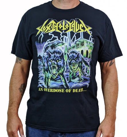 TOXIC HOLOCAUST (Overdose Of Death) Men's T-Shirt